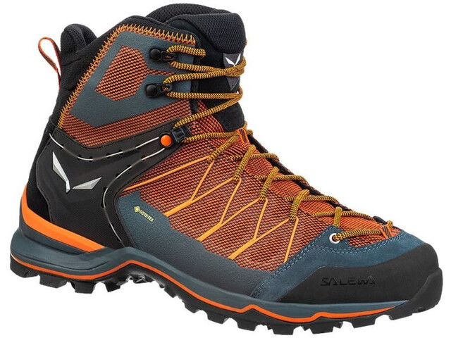 SALEWA MTN Trainer Lite GTX Botas Corte Medio Hombre, black out/carrot